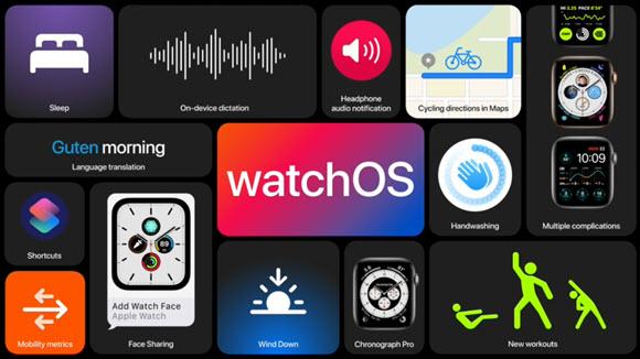 WWDC 2020 watchOS7