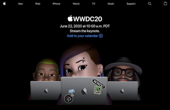 WWDC 2020 Apple