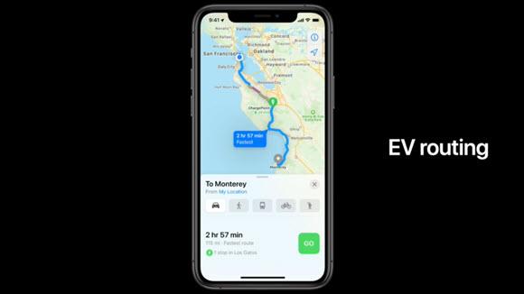 iOS14 マップ