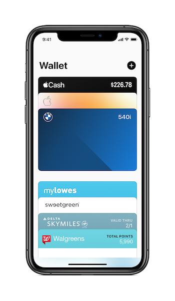 Apple iOS14 Wallet CarKeys