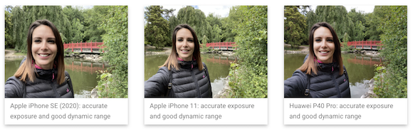 iPhone SE(第2世代) インカメラ DXOMARK