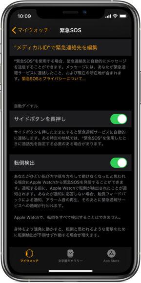 apple watch app 画面
