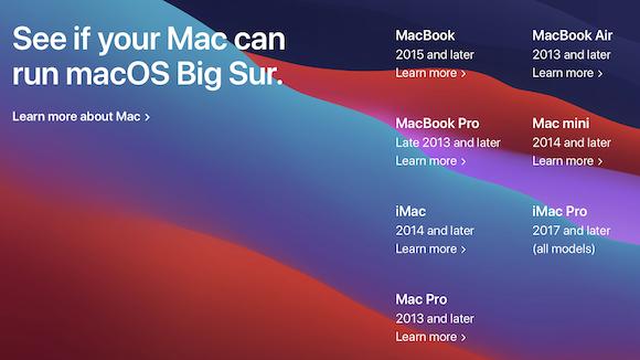 macOS Big Sur compatibility 01