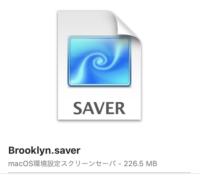 macOS Blooklyn screen saver 04