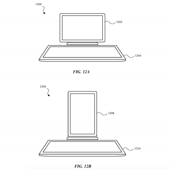Modular multiple display electronic devices