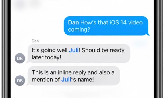 iOS41 message