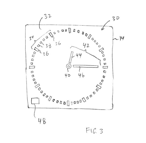 Apple Watch burn patent