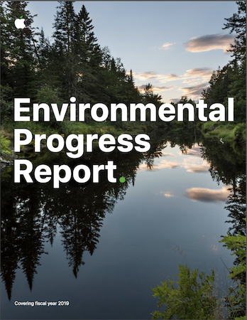 Apple Environmental Progress Report 2020