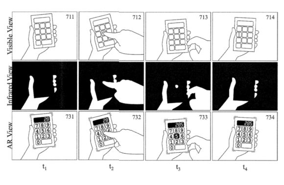 Apple Glasses-Touch-calculator
