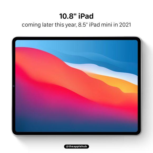 10.8inch iPad