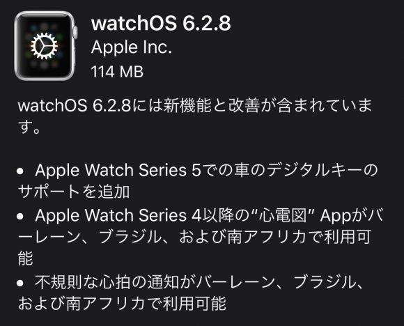 watchOS6.2.8