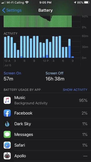 Reddit Apple Music Battery Drain