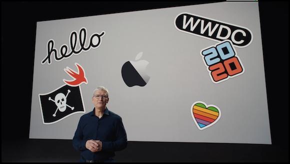 WWDC 2020 ティム・クックCEO