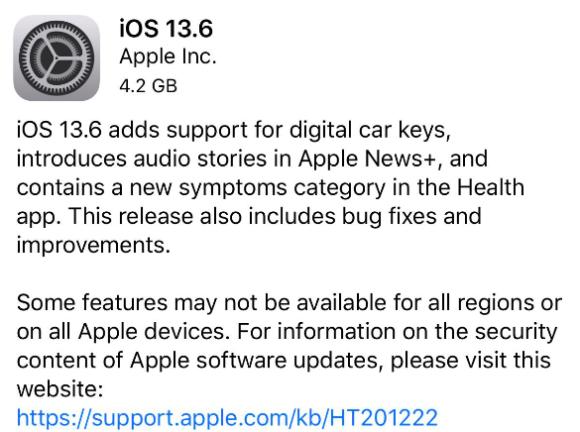 iOS13.6