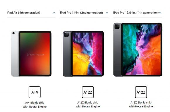 iPad Air 4 in 2020