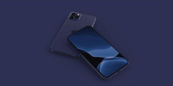 iphone12 ネイビーブルー