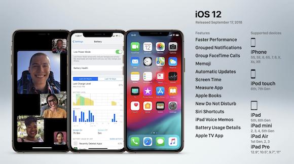 iPhone OS_iOS_12