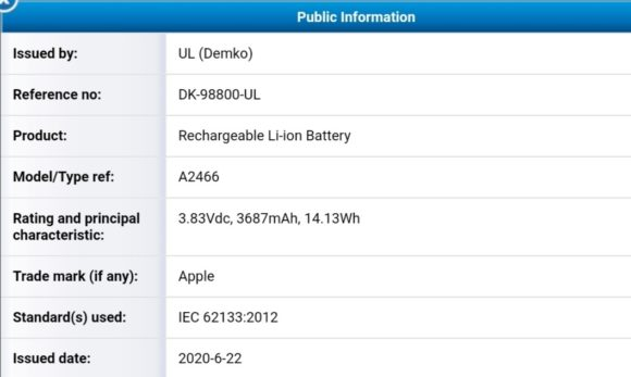 iPhone12 Battery 01