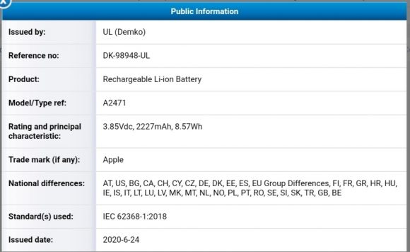 iPhone12 Battery 02