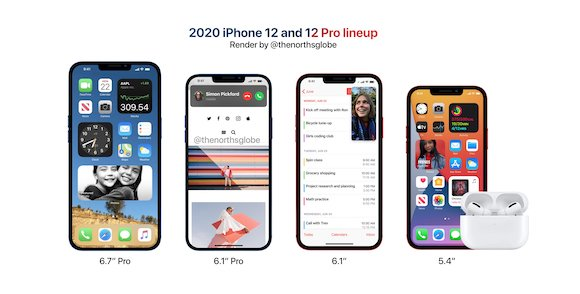 iPhone12 lineup concept
