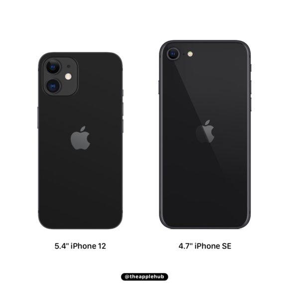 iPhone12 vs iPhone SE2