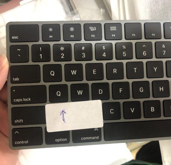 mac missed keytop