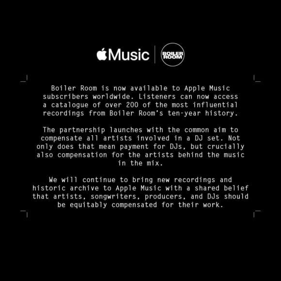 apple music boiler room