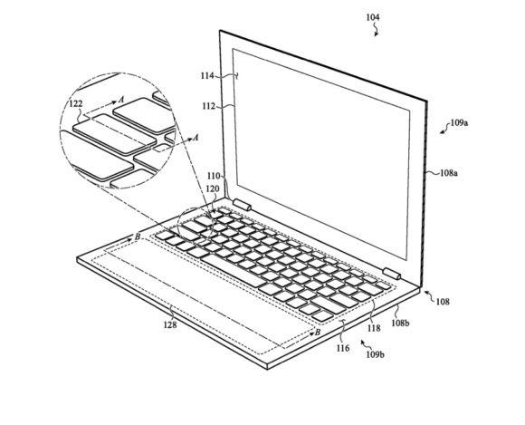 Virtual keyboard MacBook