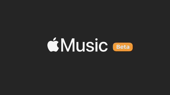Apple Music Web版 ベータ