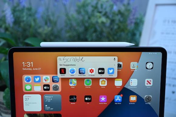 Scribble iPadOS14 5