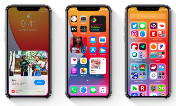 iOS14プレビュー