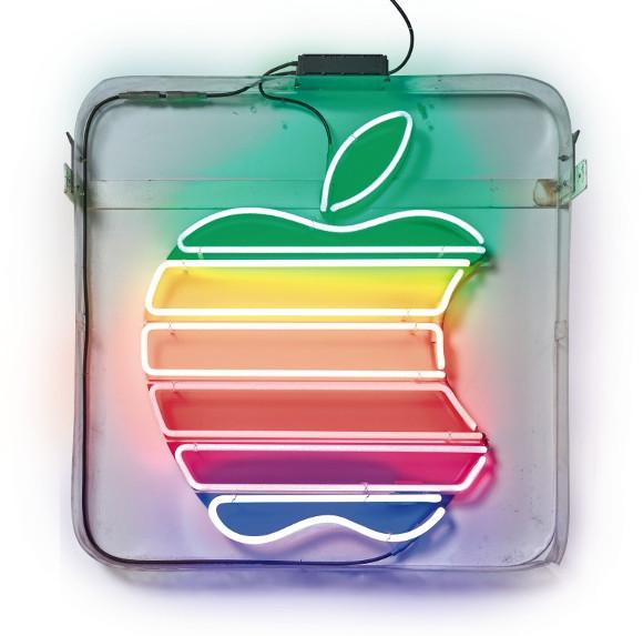 apple 看板 オークション