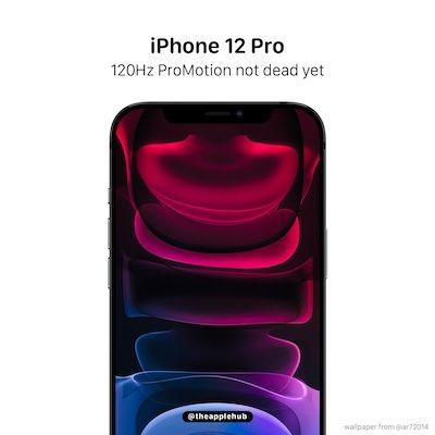 iPhone12 Pro Max 120Hz