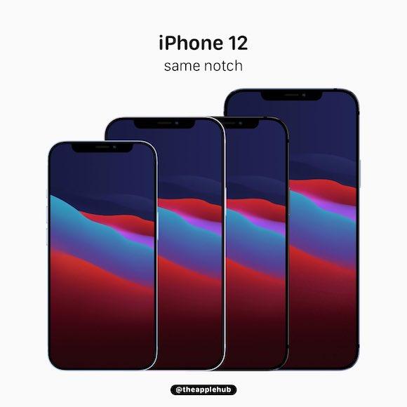 iPhone12 notch