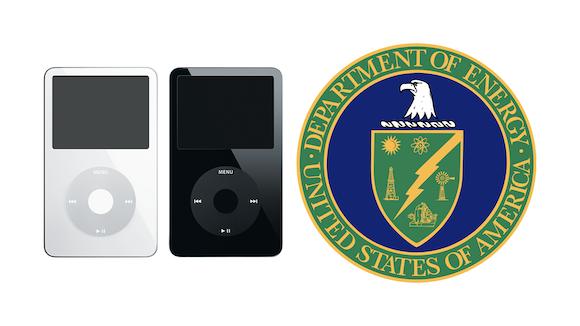 iPod 第5世代 エネルギー省 United States Department of Energy DoE