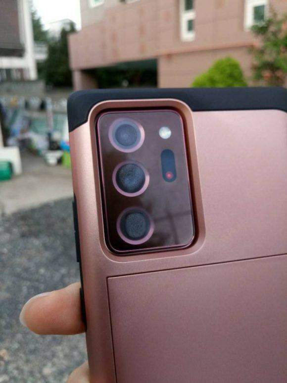 Galaxy Note20 レンズ曇り