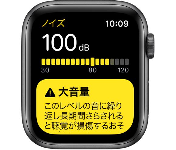 ノイズ apple watch