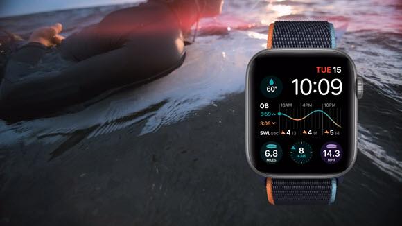 Apple Watch Series 6 surf
