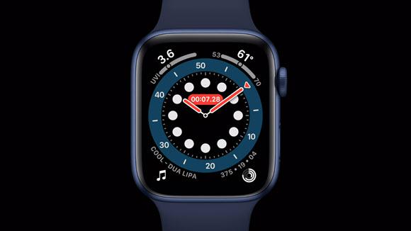 Apple Watch Series 6 watch alwayson