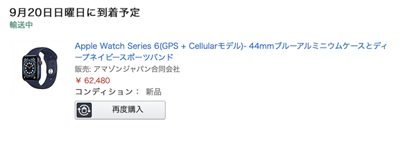 Apple Watch Series 6_order and Package_02