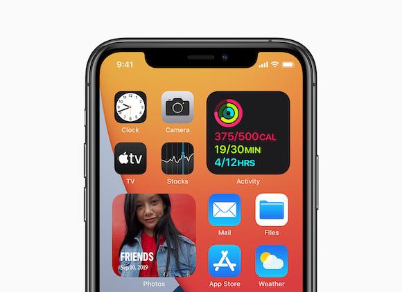 Apple iOS14 ウィジェット