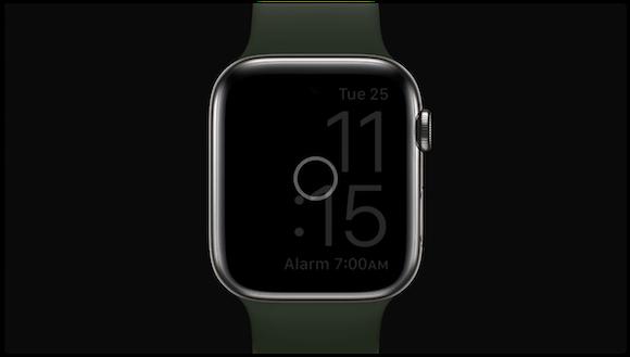 Apple watchOS7 睡眠記録
