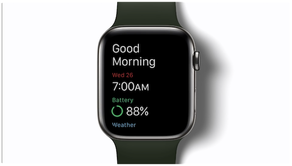 Apple watchOS7 睡眠記録