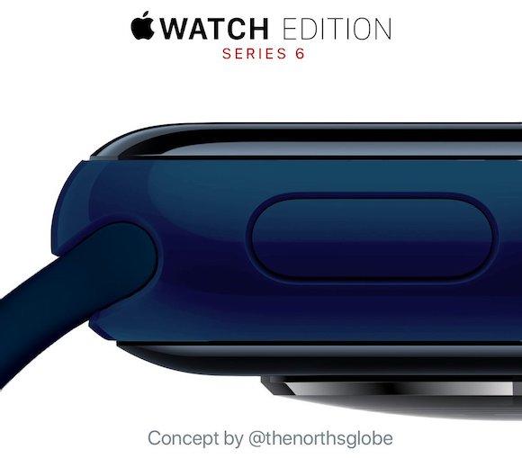 Apple Watch Series 6 ブルー コンセプト