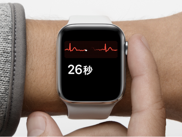 Apple Watch ECG 心電図