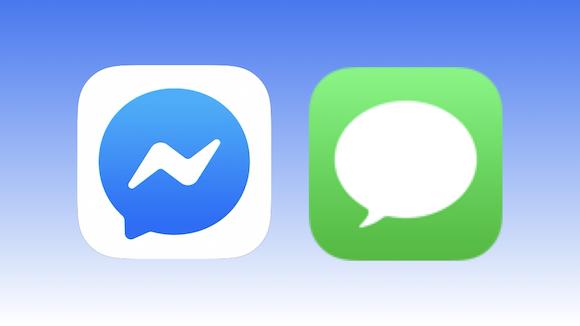 Facebook Messenger-Apple Message