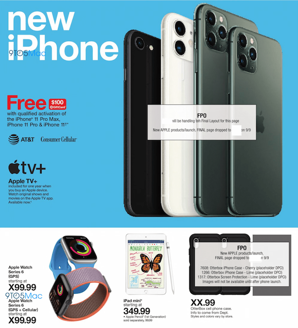 New iPhone and Apple watch in TargetNew iPhone and Apple watch in Target