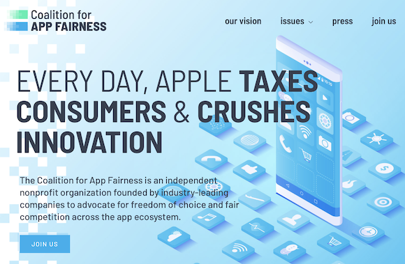 The Coalition for App Fairness