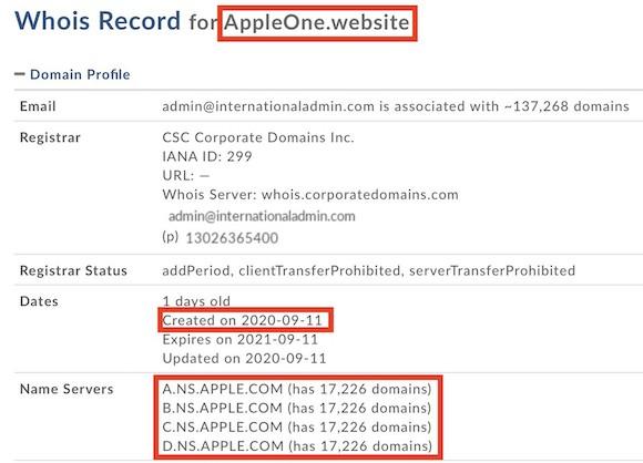 Apple One ドメイン MacRumors