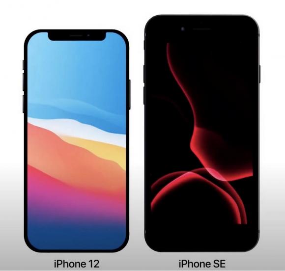 iPhone12 vs SE2
